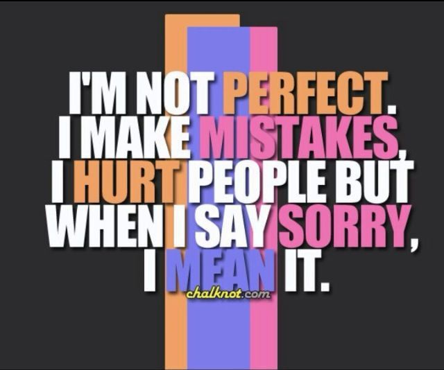 25+ Best Saying Sorry Quotes On Pinterest
