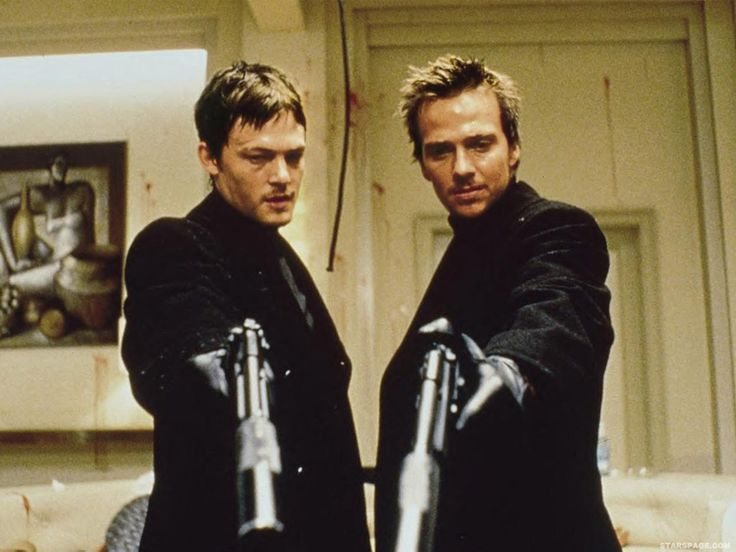 the boondock saints: Awesome Movie, Great Movie, Sean Patrick'S Flaneri, Best Movie, Norman Reedus, Normanreedus, Theboondocksaint, The Boondock Saint, Favorite Movie