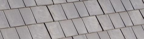 A shingle that looks like cedar but made of a a recycled composite material.