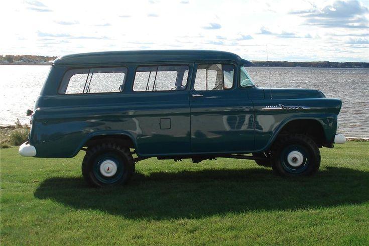 1958 CHEVROLET SUBURBAN CARRYALL Lot 411 | Barrett-Jackson Auction ...