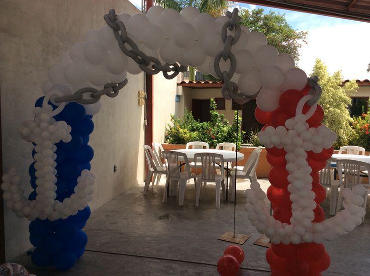 17 best images about decoracion fiesta  u0026quot nautica u0026quot  on pinterest