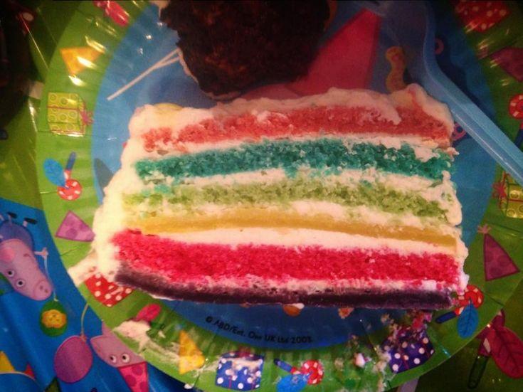 Torta arcobaleno Bimby, una torta super colorata ideale per le feste dei bambini! La ricetta è semplice, basta preparala con anticipo :) Ingredienti: ...