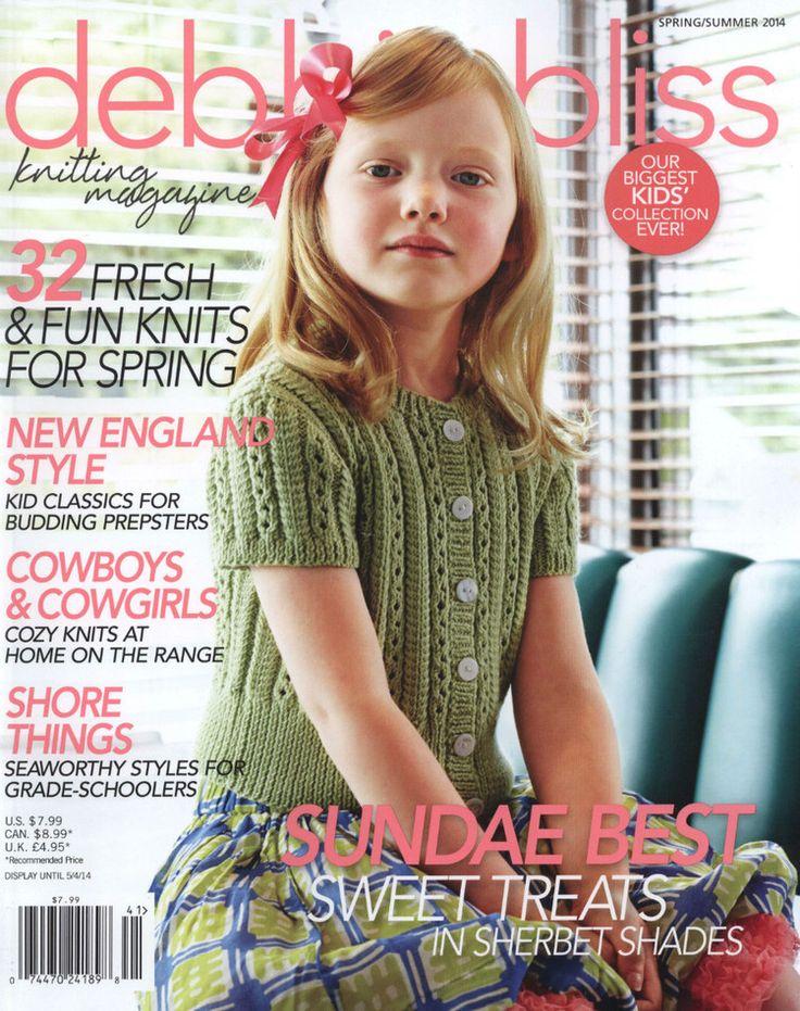 Debbie Bliss Knitting Magazine Spring Summer 2014 - 轻描淡写的日志 - 网易博客
