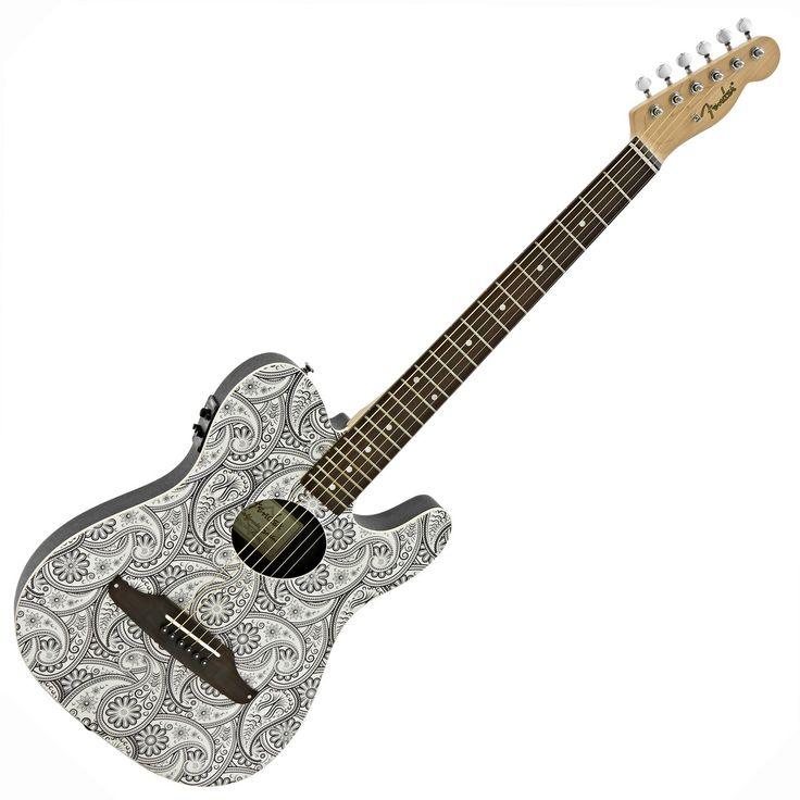 Fender Standard Telecoustic White £264