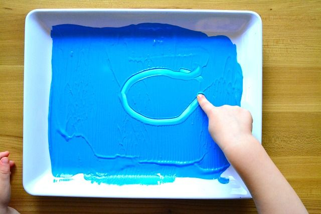 Learning to Write A paint tray is also fun, we could put paper over the top to make a print. We've used a roller to get ng-to-write.html?utm_source=feedburner&utm_mediu