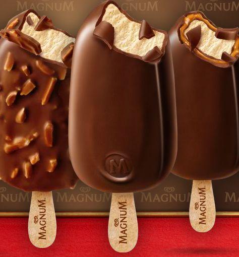 magnum ice cream - heaven!