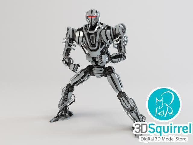 Robot ZEG4000 3D Model fbx obj max 3ds | 3DSquirrel