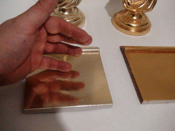 Зеркальная серебряная поверхность на мебельном фасаде! Предлагаем материалы. Обучение. Принимаем в работу заказы по золочению.