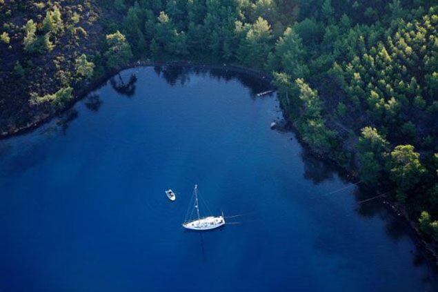Fethiye, Domuzadası, private motor yacht rental, www.barbarosyachting.com
