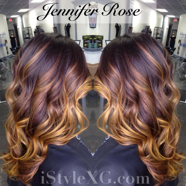 Beautiful transitional ombré. From a deep rich violet base melted into a fashion shade yellow. Finished with soft, bouncy Victoria Secret curls! iJust LOVE this color melt!   Hair, before and afters, color, hair color, ombré, balayage, color melt, hair color melting, Paul mitchell.