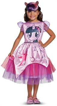 PartyBell.com - My Little Pony: Twilight Sparkle Movie Classic Toddler Costume