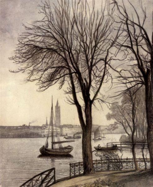 """Hamburg Alster 1892 gefunden auf www.lexikus.de.de auf das Board """"Alles rund um Hamburch"""" gepinned von www.blickedeeler.de"""