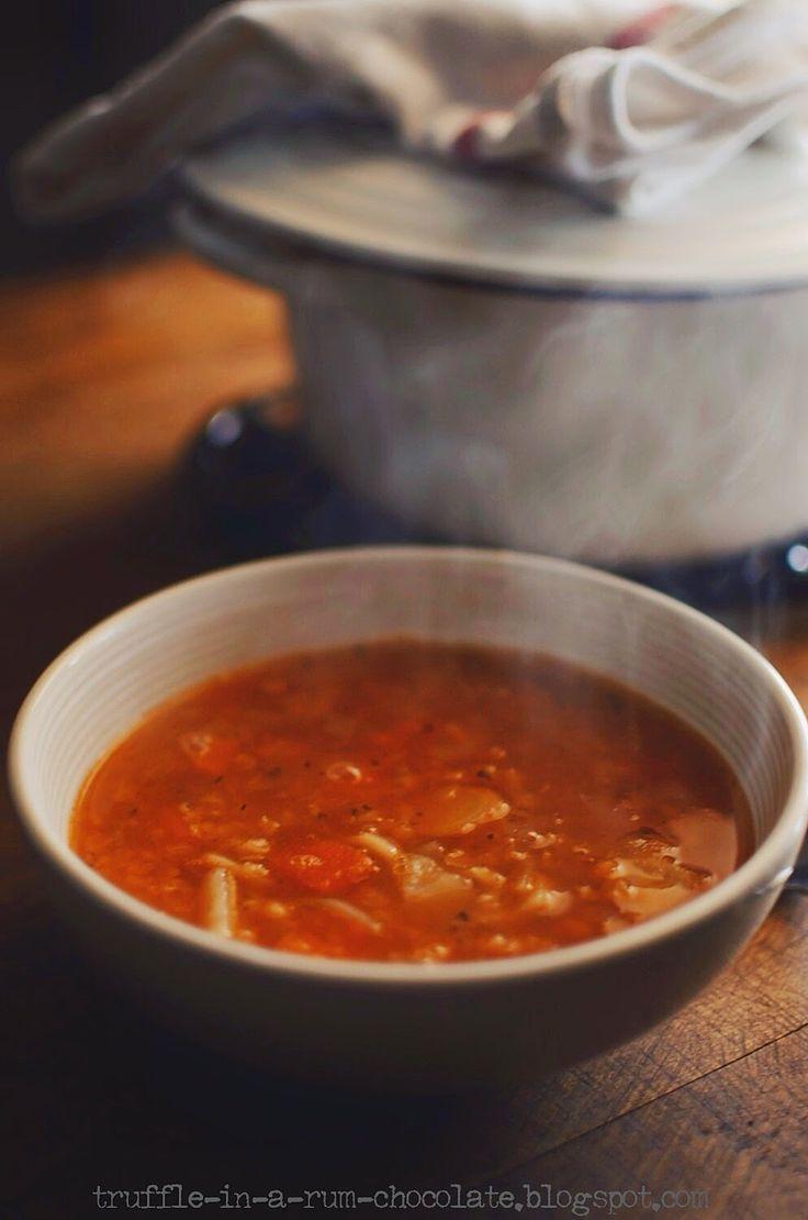 Trufla: Zupa soczewicowo-pomidorowa