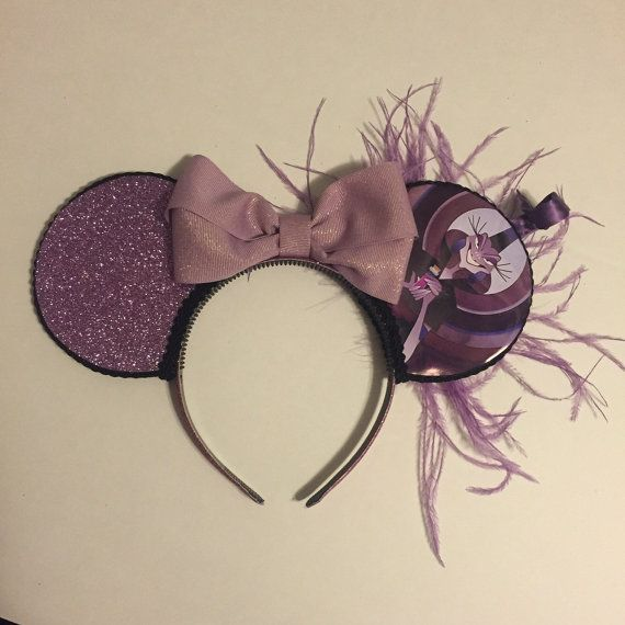 Yzma inspired Mickey Mouse ears by NicoleRoseCrafts on Etsy