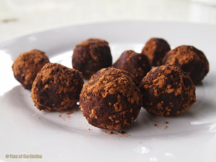 Super Simple 3 Ingredient Vegan Durian Fudge Balls Recipe by YearOfTheDurian - #durianmadness