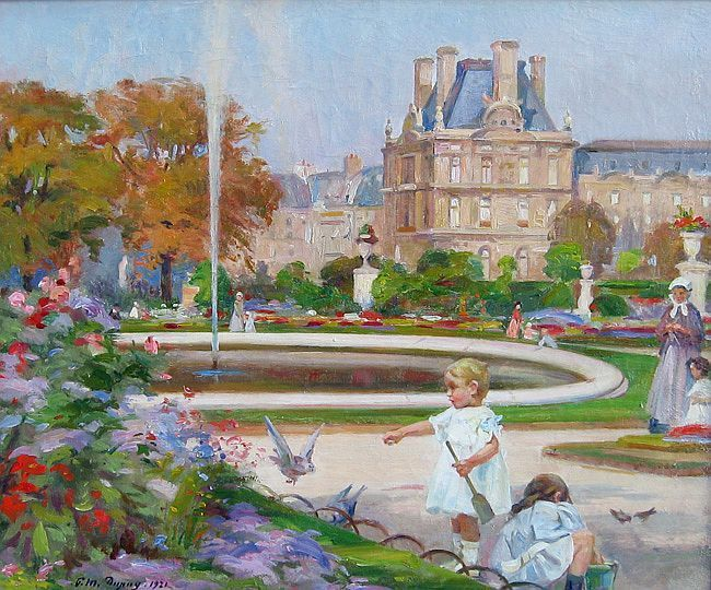 Paul Michel Dupuy, Jardin du Luxembourg - my babies