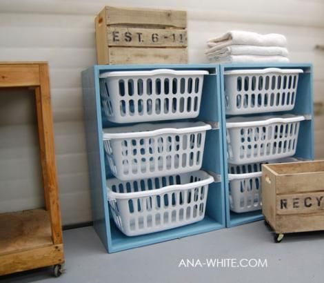 laundry basket dresser (because my clothes hardly ever make it out of