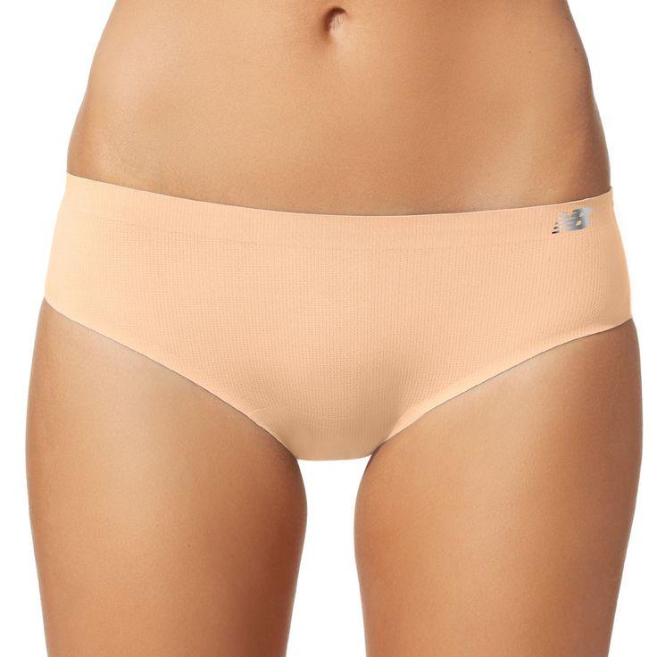 New Balance Breathe Sport Hipster Panties NB1046, Women's, Size: Medium, Dark Beige