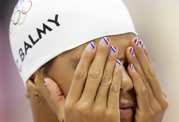 Olympians truly embraced nail art