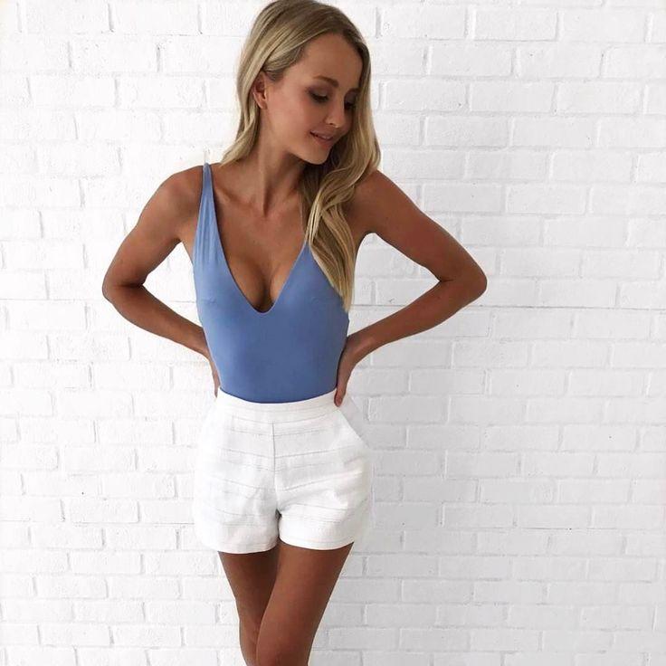 "4,223 Likes, 25 Comments - KOOKAÏ (@kookai_australia) on Instagram: ""Get the look.. The Julie Bodysuit & Hampton Shorts are available in boutiques & online xx #kookai…"""