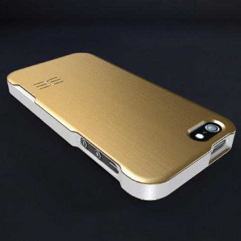 Edge Design ALFA iPhone 5 case, high-grade aluminum, polished anodished finish