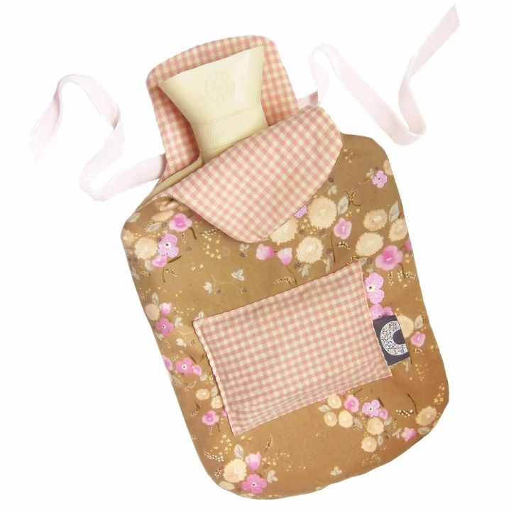 Hotwater Bottle cover with lavender