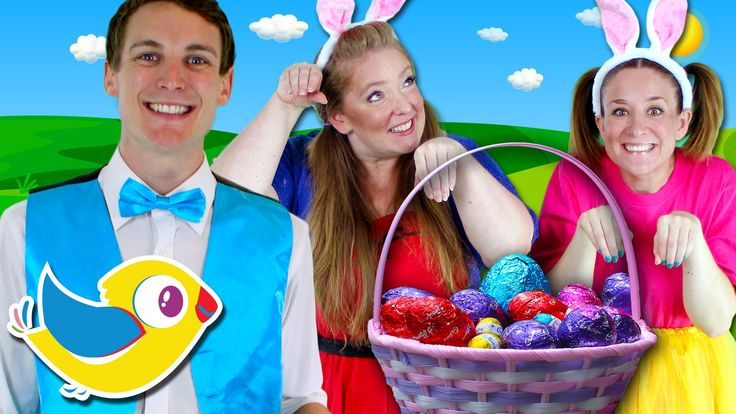 Easter Bunny Song for Kids - Counting Easter Eggs