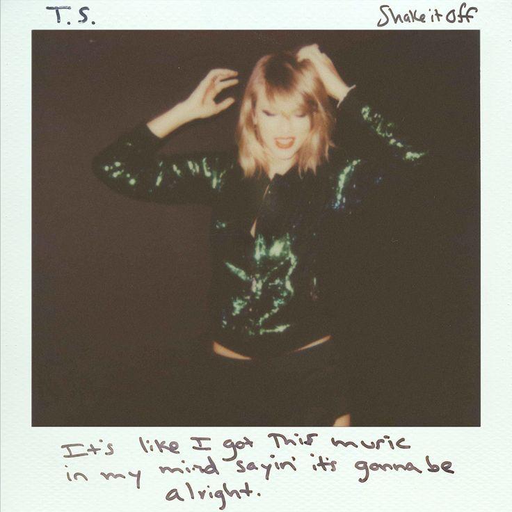 Caratula Frontal de Taylor Swift - Shake It Off (Cd Single)