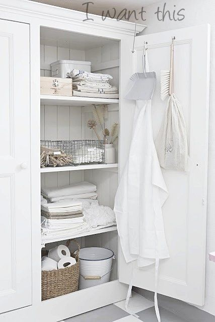 Vivre Shabby Chic: Nuova lista: una Laundry Room perfetta.