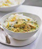 Indické kuře s citrónovou rýží