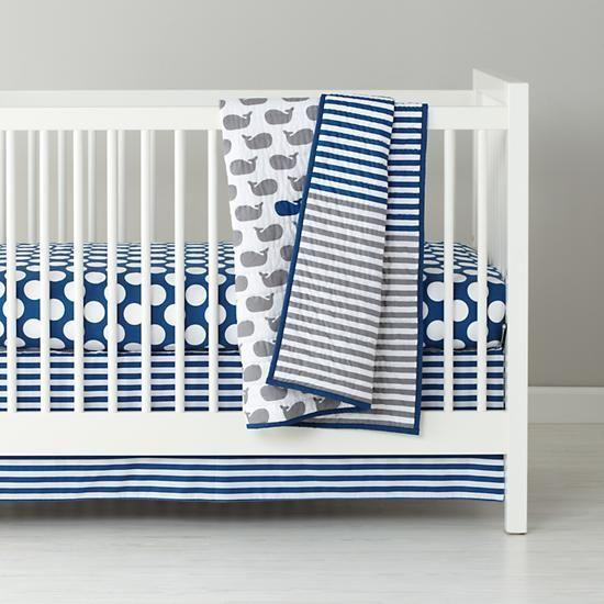 Make a Splash Crib Bedding  | The Land of Nod