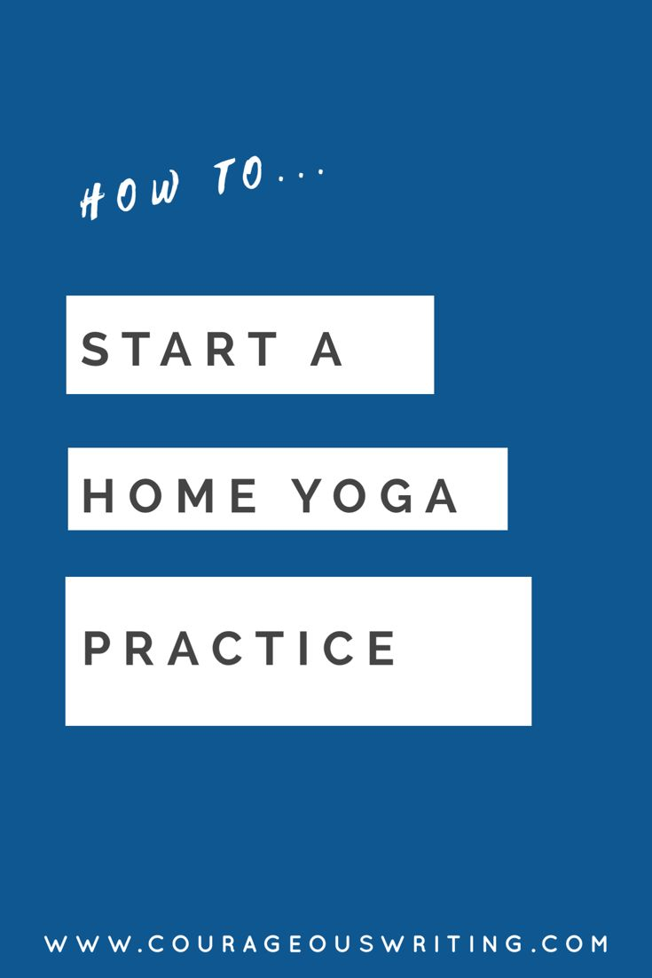 Want to start a home yoga practice but don't know where to start? Download a free copy of the Home Yoga Practice ebook and get all the info you need to get started today!