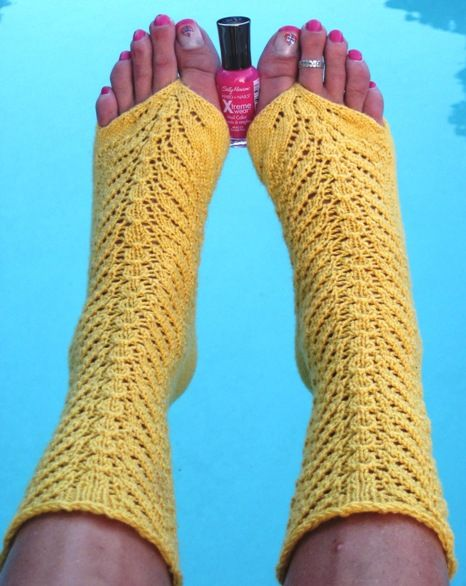 Love these pedicure socks!