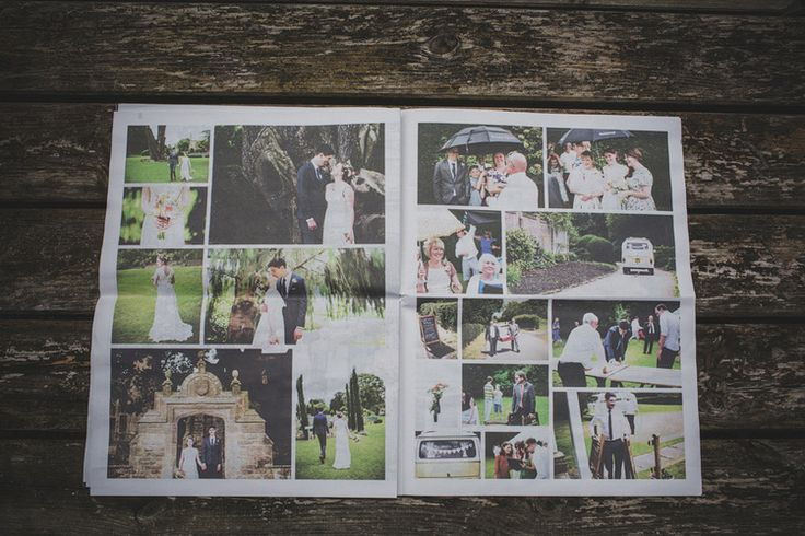 Designing our wedding newspaper: How to create your own — Humbelle