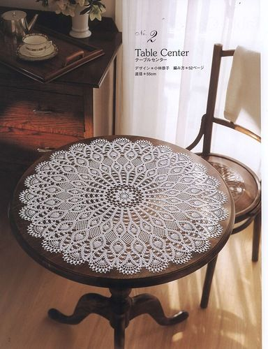 FREE DIAGRAM ~ SCROLL WAY DOWN ~ Crochet doily