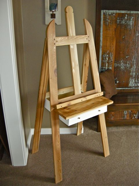 Artist Easel Woodworking Plans - WoodWorking Projects & Plans