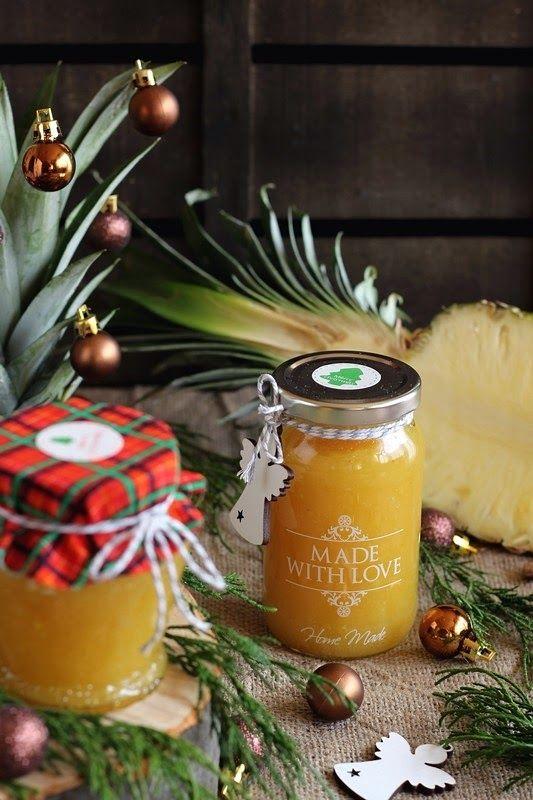 ananász dzsem