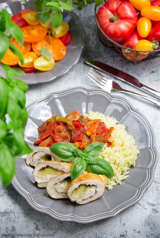 Kurczak z warzywami na styl włoski