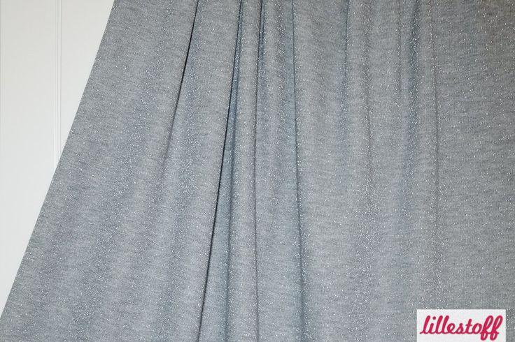 lillestoff »Glitzersweat grau-silber« // hier erhältlich: ausverkauft
