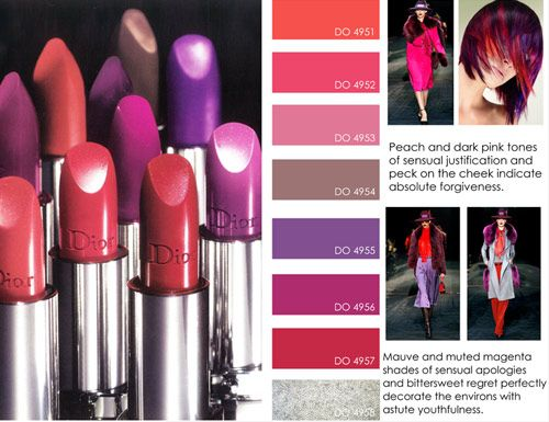 women's contemporary market fall winter f/w 2012 2013, color trends, make up detail