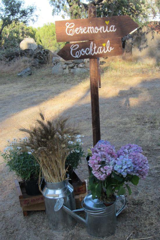 Rustic Wedding by www.ohmywedding.es Boda Rústica