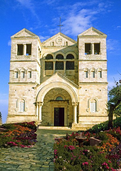 Mount Tabor, Church of the Transfiguration, Lower Galilee, Israel