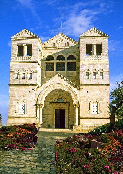 Monte Tabor, Iglesia de la Transfiguración, Baja Galilea, Israel