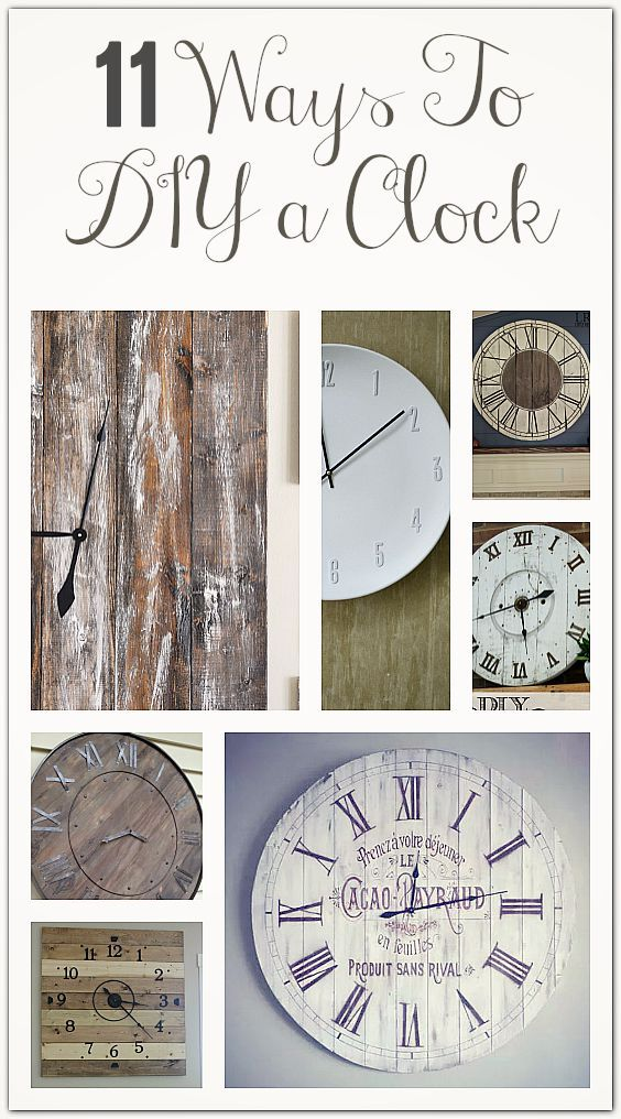 The 25 best ideas about wall clock decor on pinterest for Whatever clock diy
