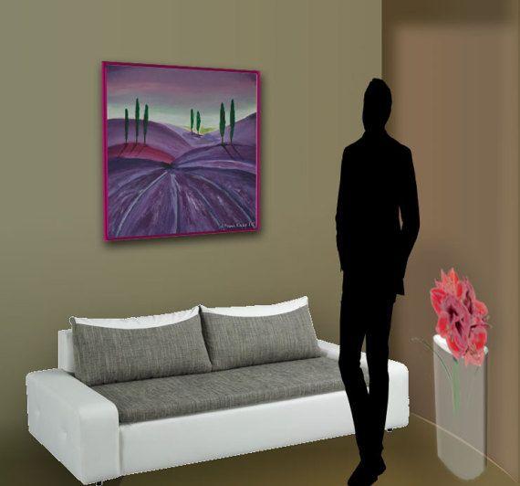 Lavendelfeld von FrankXavierKunst auf Etsy