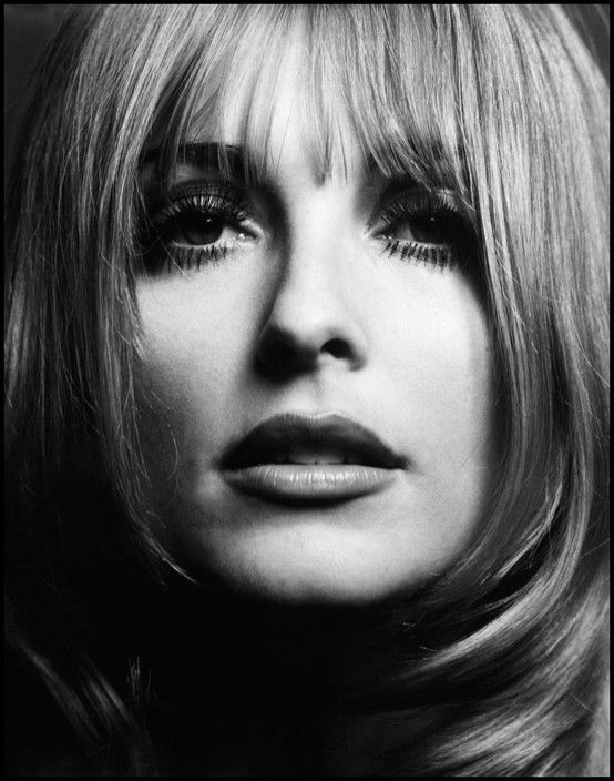 The American actress Sharon TATE. 1966.