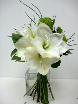 Fleur Hong Kong Florist: Amaryllis Wedding Bouquet #amaryllis #weddingflowers