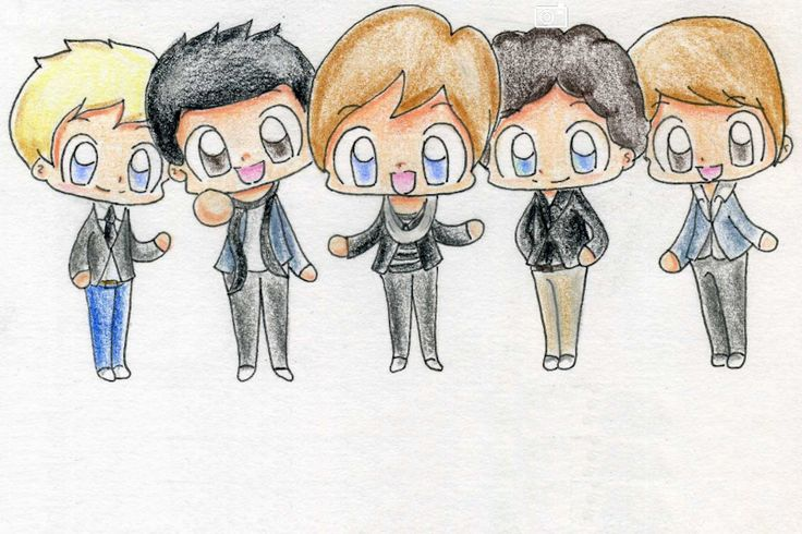 Ainda mais fofos em desenho ... hahahah