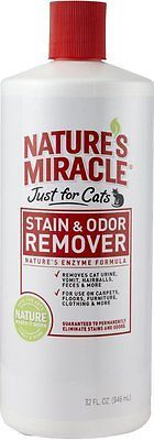 Pet Cat Stain Remover Urine Odor Eliminator Enzyme - Litter Box Home Clean Care