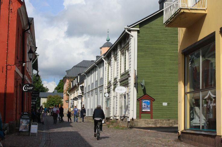 Streets of Porvoo #Finland #Porvoo